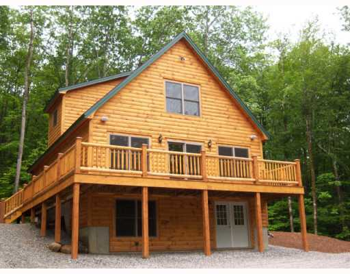 Custom Log Homes Saratoga Construction Llc