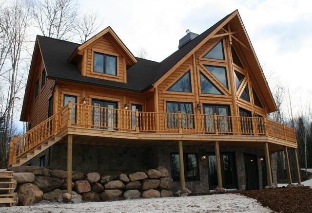 Modular home log modular home ny - Modular wood homes ...