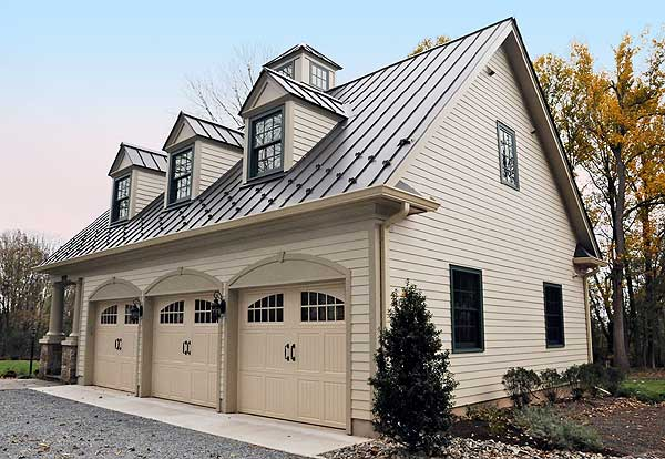 Custom garages saratoga construction llc for Custom detached garage