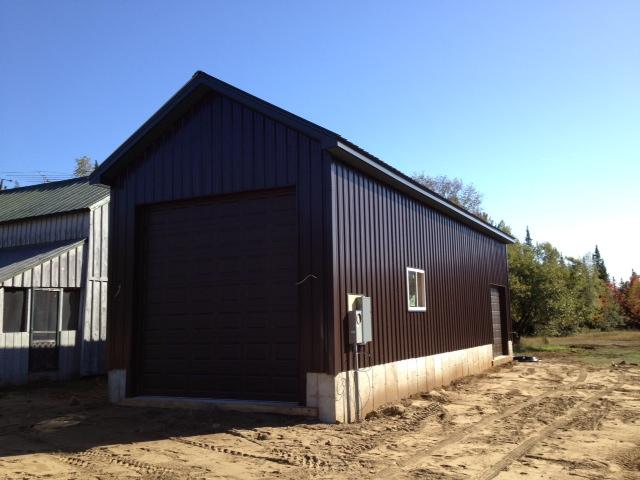 McCort Barn. RV Storage Building In The Adirondacks